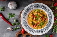 Chicken curry delish food Royalty Free Stock Images