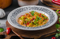 Chicken curry delish food Royalty Free Stock Photography