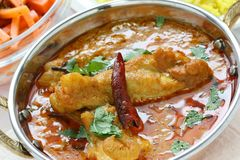 Chicken curry , indian dish Stock Photo