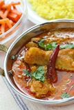 Chicken curry , indian dish Stock Photos