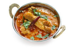 Chicken curry , indian dish Royalty Free Stock Photos