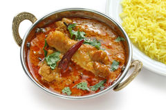 Chicken curry , indian dish Stock Photography