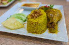 Chicken Curry Rice Royalty Free Stock Photography