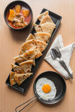 Chicken curry with roti and egg Royalty Free Stock Photos