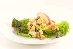 Chicken curry salad Royalty Free Stock Images