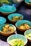 Chicken curry. Traditional Sri Lankan chicken curry dish in a bowls Stock Photo
