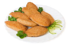 Chicken cutlet Royalty Free Stock Photography