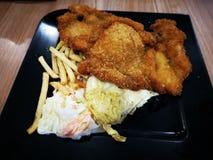 Chicken cutlet stock photos