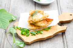 Chicken cutlet Royalty Free Stock Photos