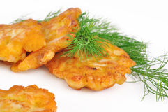 Chicken cutlets Royalty Free Stock Photos