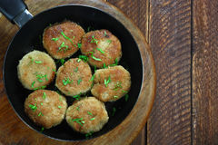 Chicken cutlets Stock Photography
