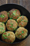 Chicken cutlets Stock Image