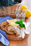 Chicken cutlets Stock Photo