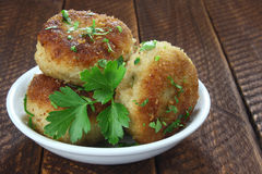 Chicken cutlets Royalty Free Stock Image