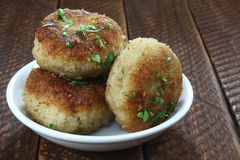 Chicken cutlets Royalty Free Stock Images