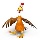 Chicken. 3D CG rendering of a chicken Royalty Free Stock Photography