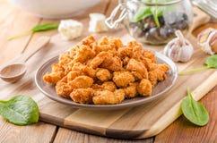 Free Chicken Delicious Homemade Popcorn Stock Photos - 76856943
