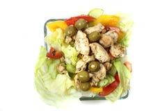 Chicken diet food Stock Images