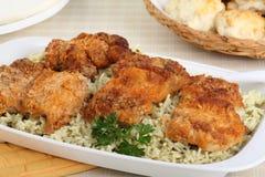 Chicken Dinner Stock Images