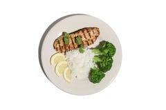 Chicken Dinner stock photos