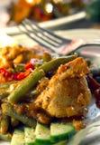 Chicken dish Stock Photography