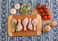 Chicken dish ingredients Royalty Free Stock Photography