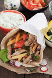 Chicken doner kebab Stock Images