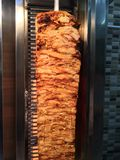 Chicken Doner. Well cooked chicken Doner Stock Images