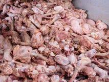 Chicken dressing plant waste