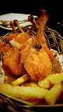 Chicken drum stick Stock Image