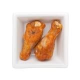 Chicken drumette Stock Photos