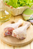 Chicken drumsticks Stock Image
