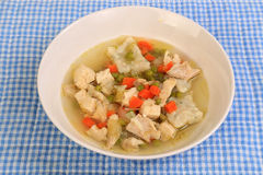 Chicken and Dumplings Soup Royalty Free Stock Photo
