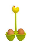Chicken egg holder Stock Image
