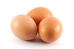 Chicken eggs Royalty Free Stock Images
