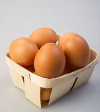 Chicken eggs Royalty Free Stock Photography