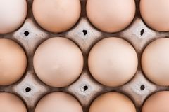 Chicken eggs closeup. homemade eggs chicken. Chicken eggs on the table. Cooking amlet. fresh eggs. the birth of little chickens royalty free stock photos