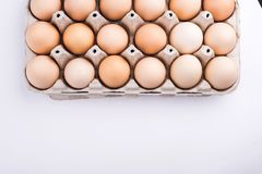 Chicken eggs closeup. homemade eggs chicken. Chicken eggs on the table. Cooking amlet. fresh eggs. the birth of little chickens royalty free stock photo