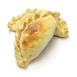 Chicken empanada, argentina food. Empanadas de pollo, chicken empanada, argentina food Royalty Free Stock Images