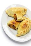Chicken empanada, argentina food Stock Photos