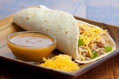 Chicken Enchilada Royalty Free Stock Photo
