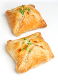 Chicken Encroute Pastry Parcels Stock Photography