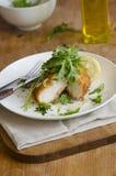 Chicken escalopes Stock Photography