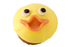 Chicken face cake for Easter Royalty Free Stock Images