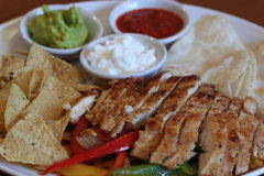 Chicken Fajita Royalty Free Stock Photo