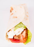 Chicken fajita wrap Stock Photography
