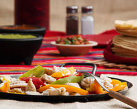 Chicken Fajitas Stock Photos