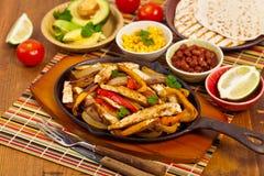 Chicken Fajitas Royalty Free Stock Photo
