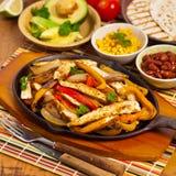 Chicken Fajitas Stock Photo