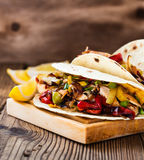 Chicken fajitas Royalty Free Stock Photo